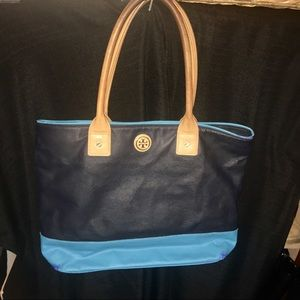 COLORBLOCK TORY BURCH authentic natural wear